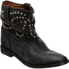 Isabel Marant Caleen boots - perfect with cut-off denim shorts.
