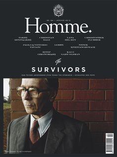 Homme magazine, April 2012 - Sólo por salir Gary Oldman en la portada ya merece un re-pin...