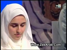 Hasnaa Kholali حسناء خولالي وقراءة رائعة جدا جزء من القرآن - YouTube