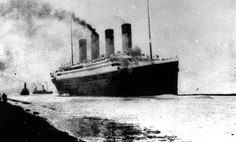 The Titanic departs Southampton, England on April 10, 1912. On April 15, 1912, the Titanic sank on its maiden voyage after striking an iceberg, killing more than 1,500 people.