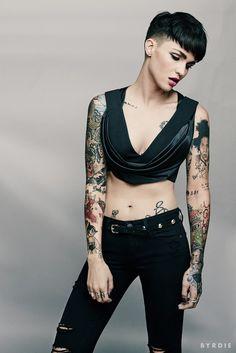 awesome tattoos via byrdie.com @byrdie