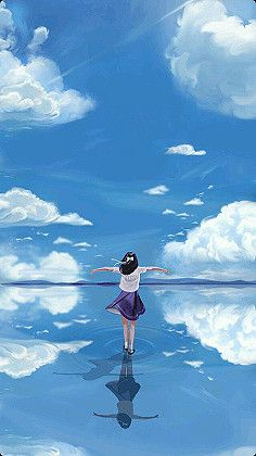 Walking on water..