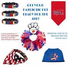 Fun stuff for the Patriotic Pups!
