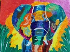 Fauve elephant