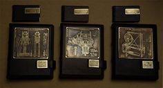 Авторская студия OleLoo: Книги в кожаном переплете + визитницы. Бизнес подарки Латунная гравюра