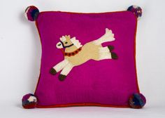 Children's Felt Cushions (Pippa the Pony)