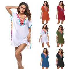 e432081c946da Summer beach cover up women tassel swimsuit bikini stylish beach sunscreen  shirt smock cover ups robe de plage saida de praia
