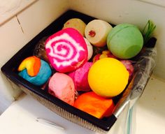 lush bath bombs storage - Google Search