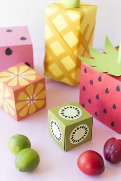 DIY Fruit wrapping paper - The House That Lars Built