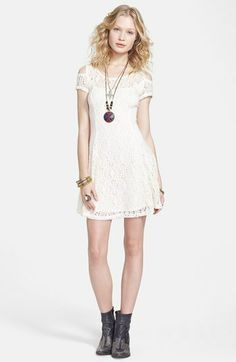 Free People Kiss the Sun Crochet Babydoll Dress on shopstyle.com | See more about babydoll dress, sun and crochet.