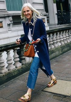 Street Style | Ruth Chapman Joint Ceo, Matches Fashion. London {Cool Chic Style Fashion}