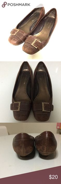 🚺 Anne Klein iflex Shoes Leather upper. Man made sole Anne Klein Shoes Heels