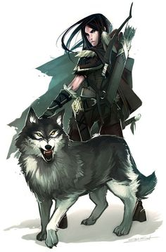 Reminds me of a specific Magisend with his familiar.