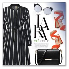 """YESSTYLE.com"" by monmondefou ❤ liked on Polyvore featuring LARA, Manolo Blahnik, Biu Style and BeiBaoBao"