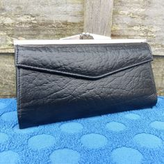 Womens Vintage Leather Envelope Purse - Classi Design - Lovely #Unbranded #CoinPurse