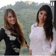 Anto and her friend Daniella Semaan