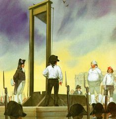 Guillotine Execution, Roman, French Revolution, Socialism, New Age, Colonial, 19th Century, British, France