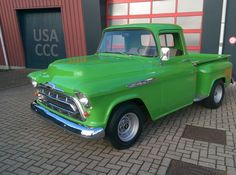 Chevrolet 3100 Apache Pick Up Shortbed Stepside - 1957