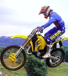 1990 AMA 125 Motocross Champion.