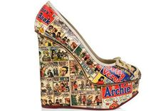 Archie Comics Shoes by Charlotte Olympia