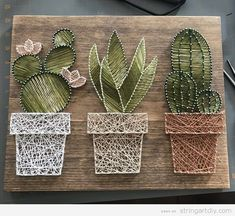 cactus art for kids crafts \ cactus kids craft . cactus crafts for kids . cactus art for kids crafts . cactus arts and crafts for kids . paper cactus crafts for kids . cactus crafts for kids children Rustic Wall Art, Rustic Walls, Rustic Wood, Diy Wood, Art Mural Rustique, String Art Diy, String Crafts, Wall Art Crafts, String Art Heart