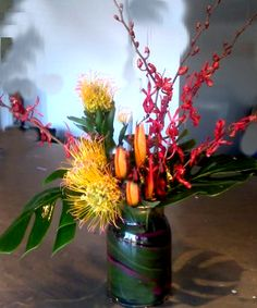 Modern Medley Tropical Arrangement