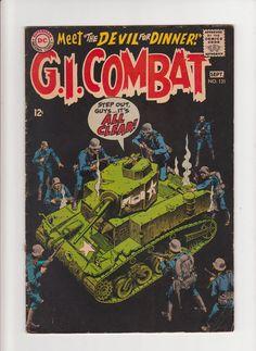 Vintage 1968 G.I. Combat DC Comics Meet the Devil by michiegoodsny