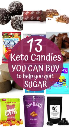 Store bought keto candy that you need to try! If you are trying to kick your sugar addiction in you need to try these delicious sugar free & keto candies and candy bars! eiweiß 90 shake 13 Store Bought Keto Candy Bars That Taste Like The Real Thing Keto Friendly Desserts, Low Carb Desserts, Diet Desserts, Paleo Dessert, Autoimmun Paleo, Keto Postres, Keto Candy, Healthy Candy, Sugar Candy
