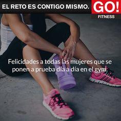 Día Internacional de la Mujer. #gofitness #clasesgo #gym #fit #ejercicio #fuerza #musculos #mujeres #reto