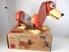 Slinky Dog Classic Pull Toy Retro Box Collector's Edition NOB #JamesIndustries #SlinkyDog #ClassicToy #PullToy #Retro #OriginalBox #CollectorsEdition #2011 #DisneyPixar #ToyStory
