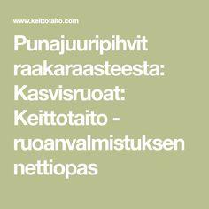 Punajuuripihvit raakaraasteesta: Kasvisruoat: Keittotaito - ruoanvalmistuksen nettiopas