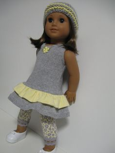 American Girl Doll Clothes  Buttercup by 123MULBERRYSTREET on Etsy, $29.00