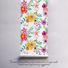 Florist's Dream Removable Wallpaper MagicStick is a friendly and easy to apply fabric that contains no paper. Material do not require use of wallpaper paste or glue for hanging. Wallpaper Magic, Wallpaper Paste, Flower Wallpaper, Tree Wallpaper, Girl Wallpaper, Latex, Magic Garden, Bath And Beyond Coupon, Self Adhesive Wallpaper