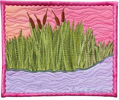 Great blog with great tips on art quilting
