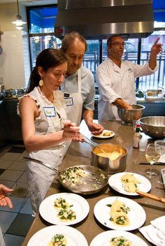 """""""If you live in any area where Viking does these cooking classes, we highly recommend trying one out; and if you live in Atlanta, make sure you sign up with Chef Louis. """"@ShoeBoxKitchen"""