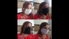 DIY Sew mask from old t-shirts and pants – 4 variants – 4 examples – How to make a face mask at home – Maske nähen Simple Face, Old T Shirts, How To Stay Healthy, Videos, People, Sewing, How To Make, Activities, Clothes