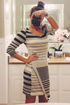 Stylist: So I know I said no more dresses OR stripes, but this is cute! If this is current I'd make the exception!Hailey 23 Nori Dress Stitchfix - Fifty Shades of Grits & Grace