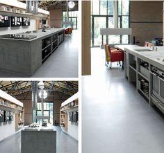 Maatwerk keuken in loods door The Living Kitchen B.V. by Paul van de Kooi