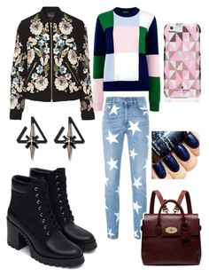 """""""Jessica"""" by elliemack19 on Polyvore featuring Markus Lupfer, Needle & Thread, STELLA McCARTNEY, Zara, Mulberry, Kate Spade, women's clothing, women's fashion, women and female"""