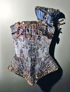 ◆❂ Madonnas Christian Lacroix lavender corset from the Re-Invention Tour ❂◆