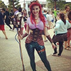 Awesome Ariel steampunk