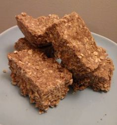 No Bake HIgh Fiber Protein Bars (with Flaxseed Meal) Recipe by CLYNNTHOMAS via @SparkPeople
