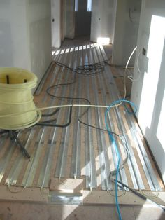 for outside patio area for jd?  Patented radiant heating product from Radiant Engineering Inc http://www.radiantengineering.com  Have warm floors in the winter.