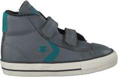 vette Grijze Converse Sneakers STAR PLAYER MID 2V