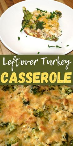 Wondering what to do with leftover turkey? This healthy leftover turkey casserole is going to become your favorite dinner recipe! Use leftover turkey breast, leftover roast turkey or leftover turkey breast to make this healthy Keto casserole! Leftover Turkey Casserole, Leftover Turkey Recipes, Leftovers Recipes, Ground Beef Keto Recipes, Beef Recipes, Vegetarian Recipes Dinner, Easy Dinner Recipes, Dinner Ideas, Broccoli Recipes