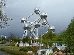 El #Atomium, símbolo de la ciudad de #Bruselas.