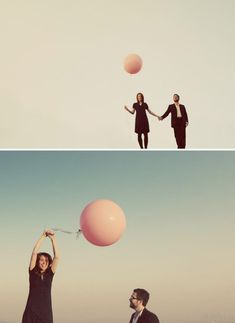 One Pink Balloon – An Engagement Shoot in LA