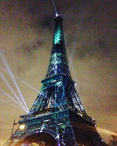 #cop21 #cop21paris #cop21paris2015 by sutebi Eiffel_Tower #France
