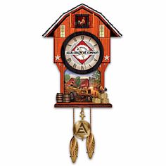 Those OTHER farm implement guys cuckoo clock
