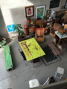 affordable selection of pre loved dining tables the eco factory has a quirky selection of